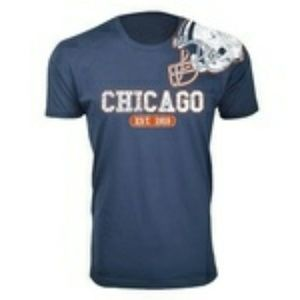 Rock and Luxe Chicago Bears FootBall T